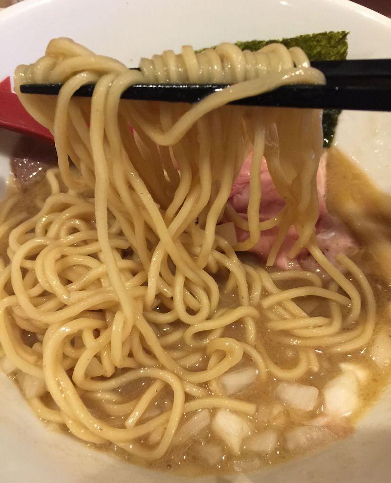 crab台風。細麺