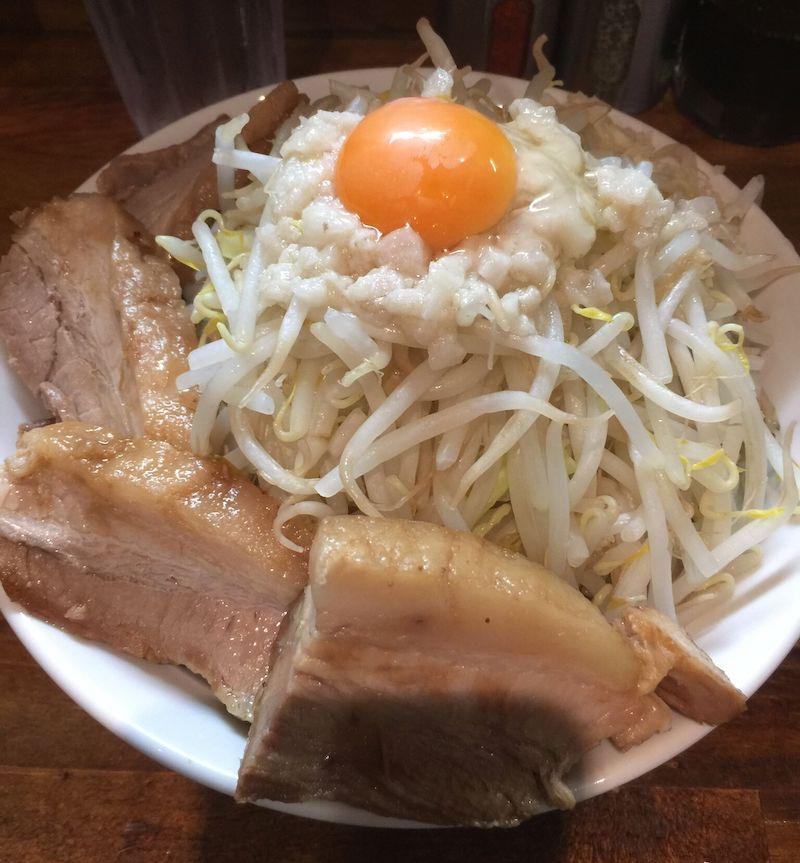 麺処MAZERU 肉増しまぜそば(醤油)