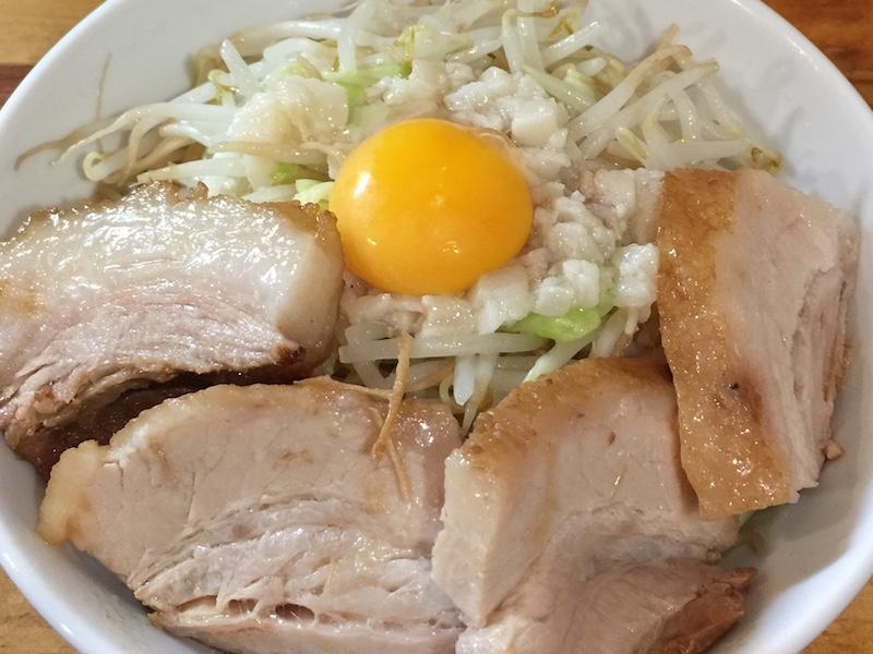 麺処MAZERU 肉増しまぜそば(塩)アイキャッチ