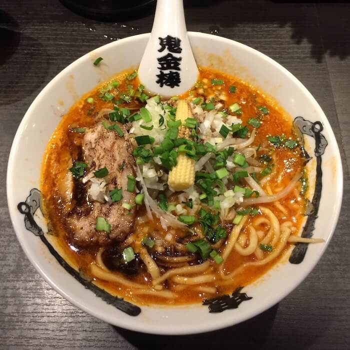 鬼金棒 カラシビ味噌らー麺