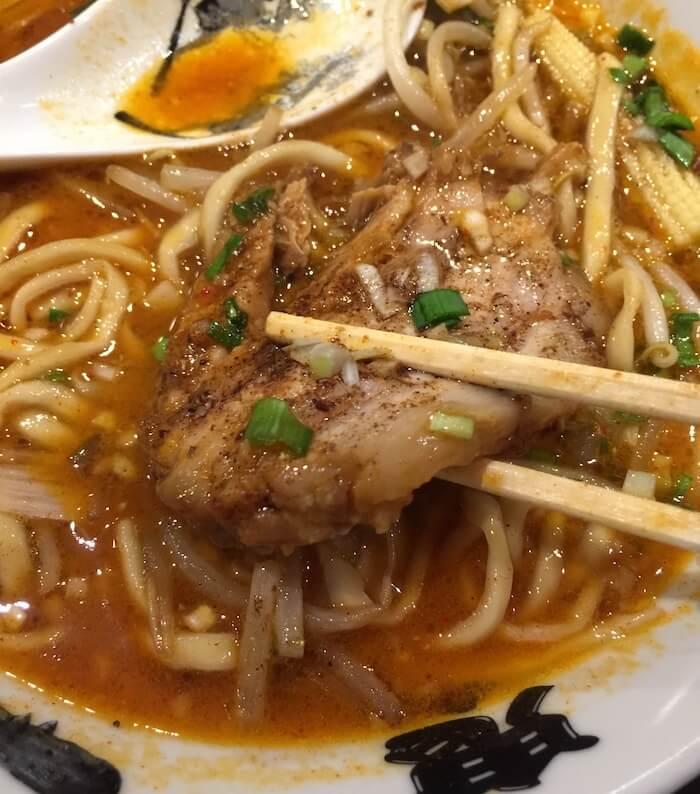 鬼金棒 カラシビ味噌らー麺 チャーシュー